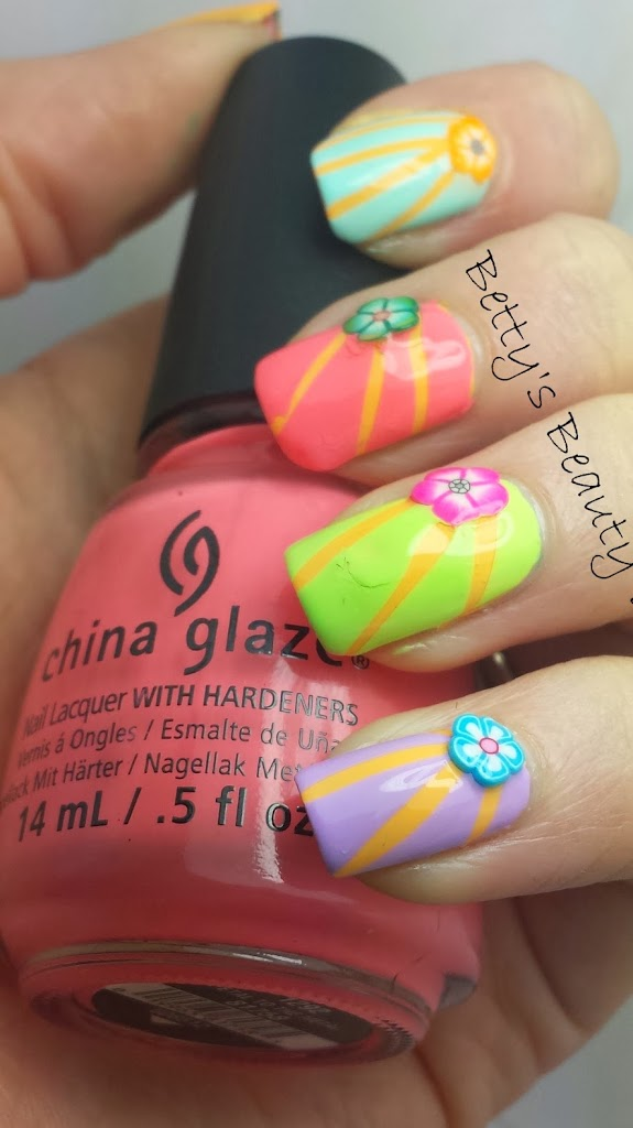 China Glaze Petal to the Metal