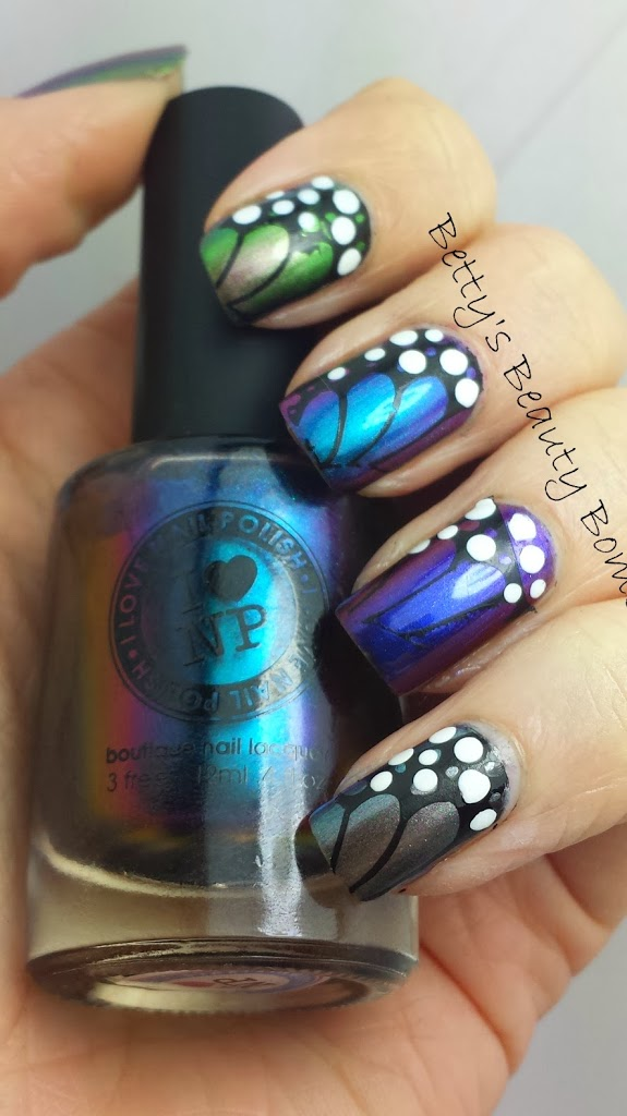 Butterfly Wing Mani