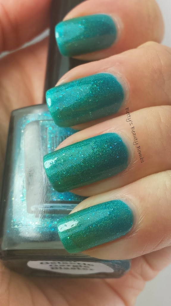 Literary Lacquers Pan Galactic Gargle Blaster Swatch