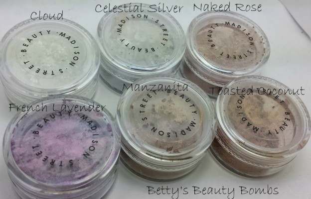 Madison Street Beauty Eyeshadow Swatches and Review