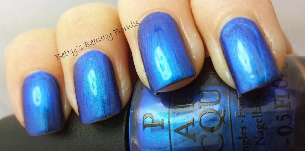OPI Miss Piggy's Big Number Swatch