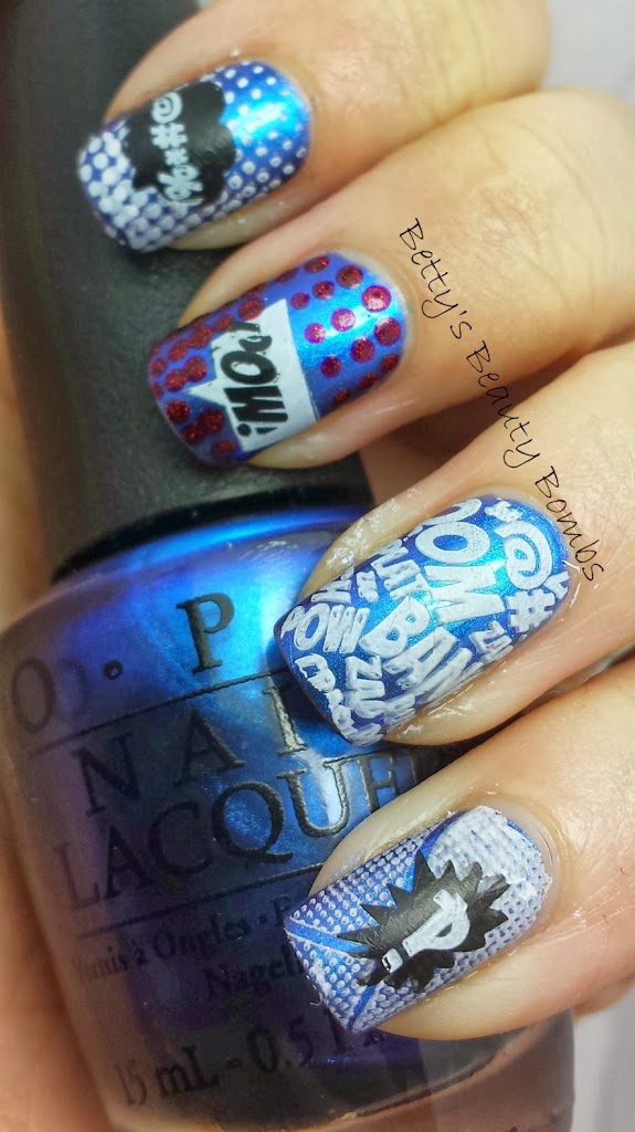 Vivid Lacquer Stamping Plate 011