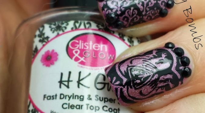 Stamping with Vivid Lacquer!
