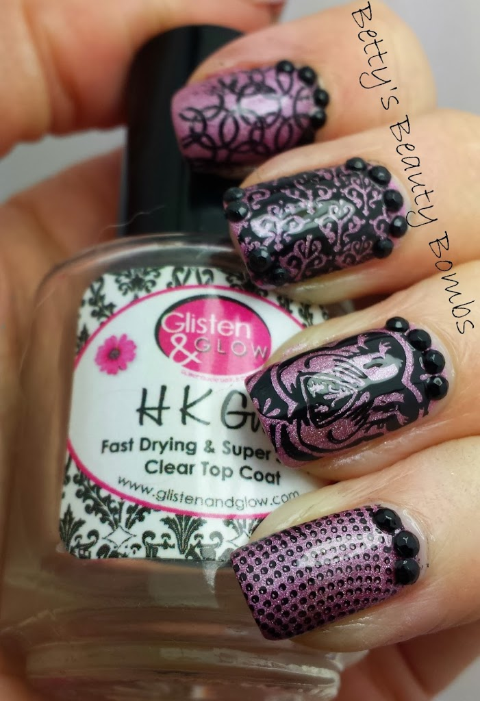 Vivid Lacquer Stamping Plate 020
