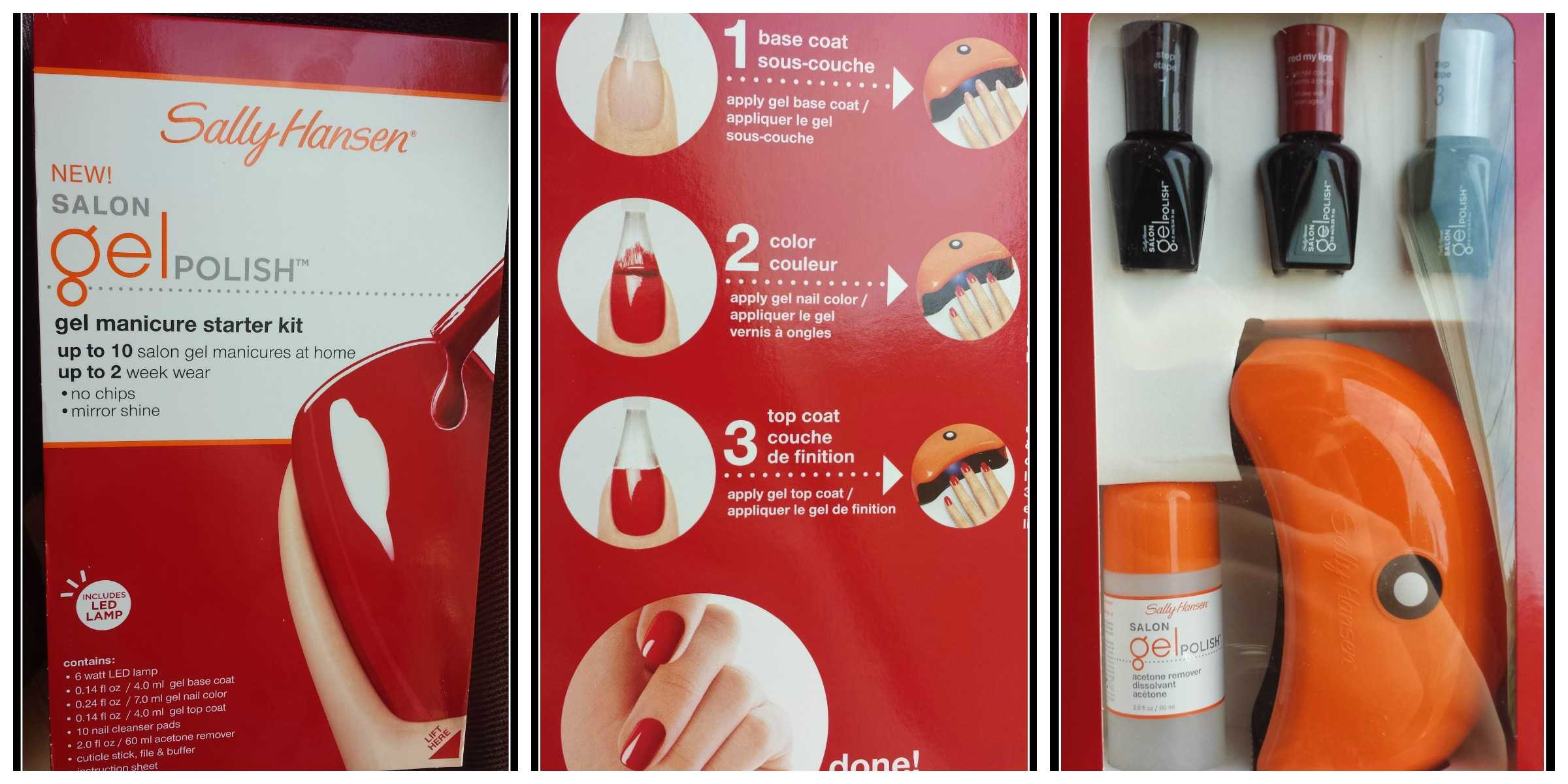 May Giveaway! Sally Hansen Gel Manicure Starter Kit! - Betty