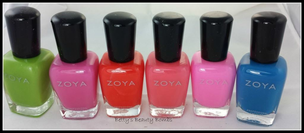 Zoya-Tickled-Collection