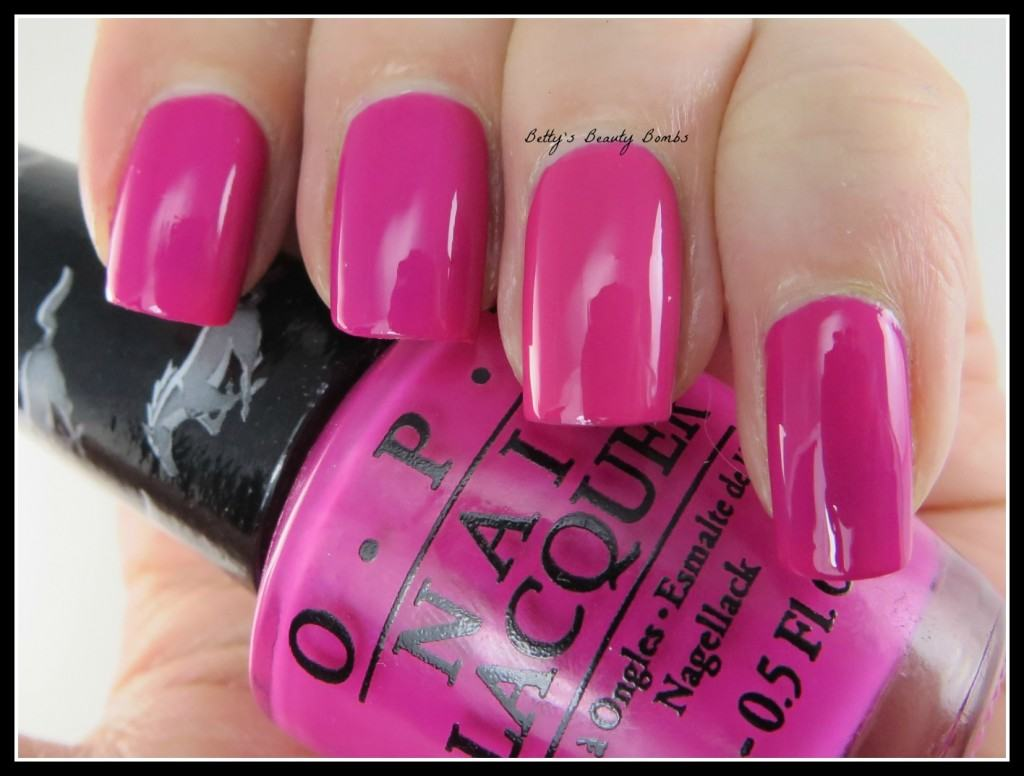 Same Or Similar Saturday Opi Hot Pink Duel Lazy Betty