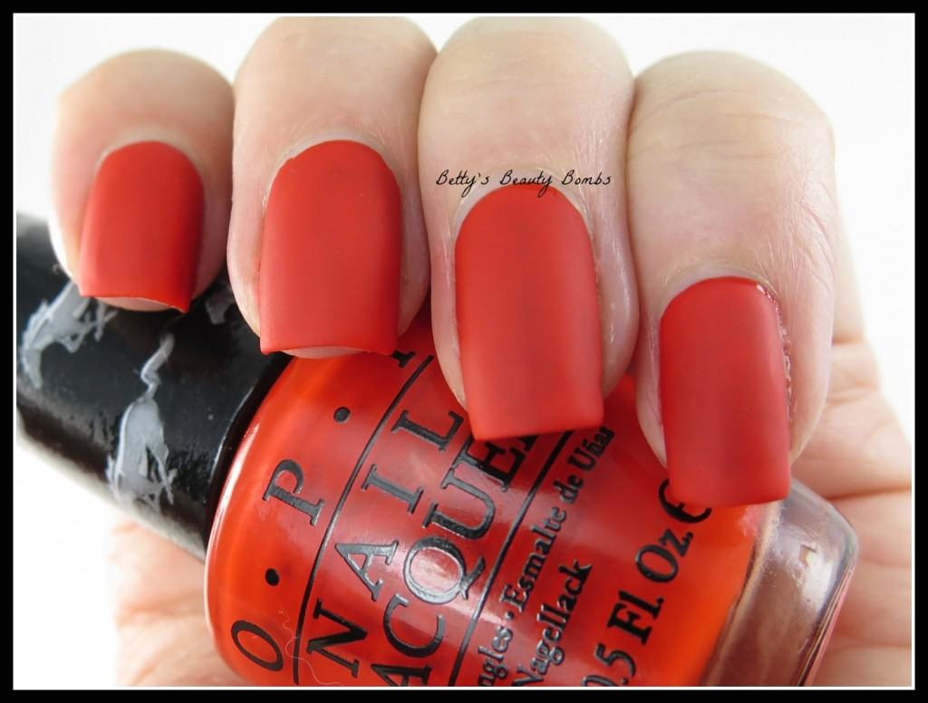 OPI-Race-Red-Matte