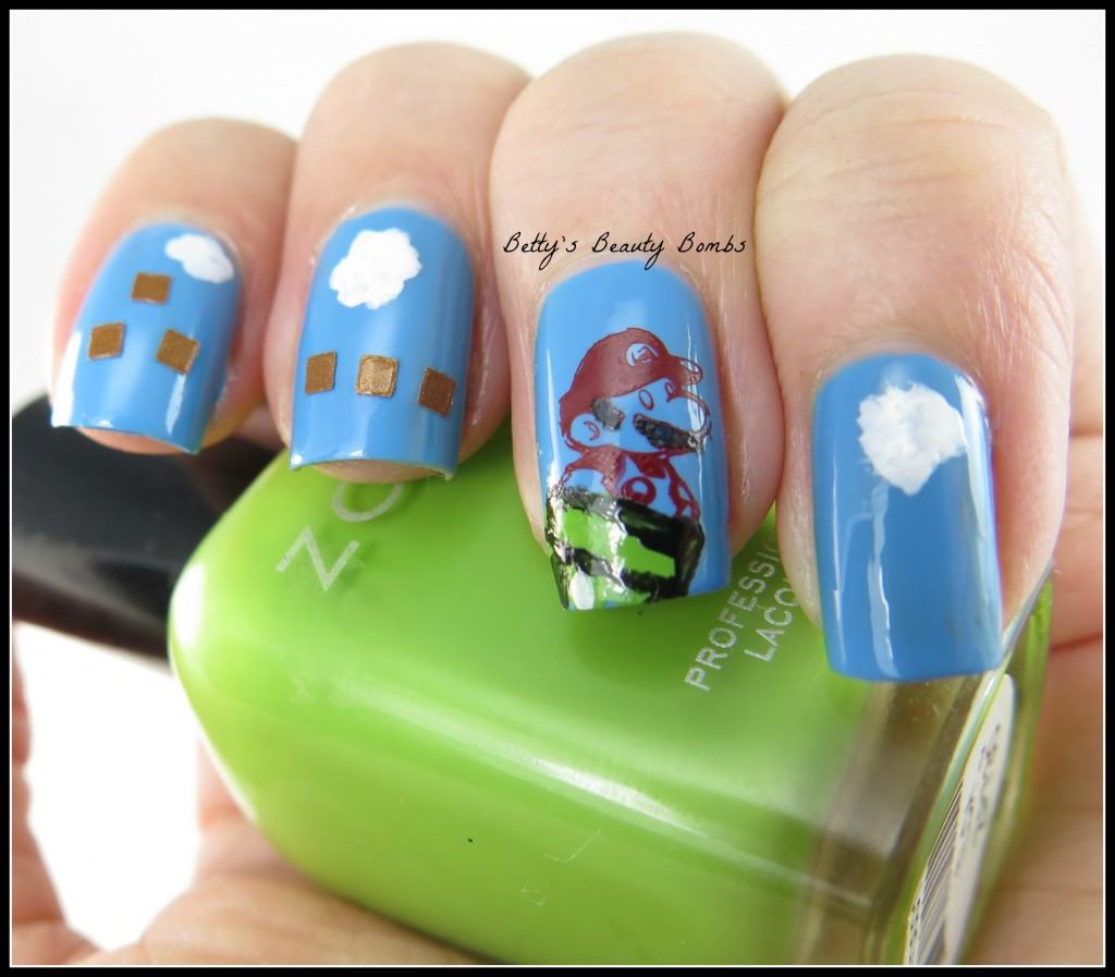 Video-Games-Nail-Art