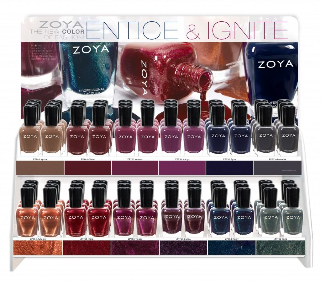 Zoya Entice and Ignite Collection