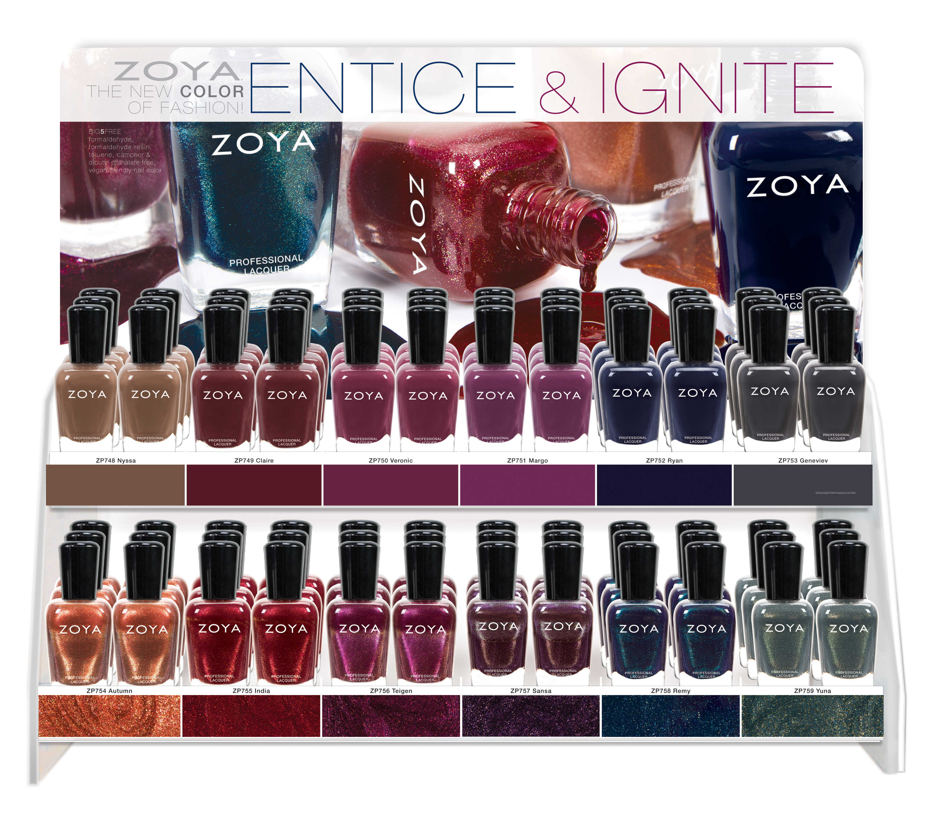 Press Release: Zoya Entice and Ignite Collection! Lazy Betty