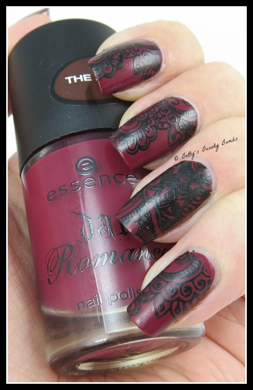 Konad-Stamping-Polish - Gothic Nail Art Stamping - Lazy Betty