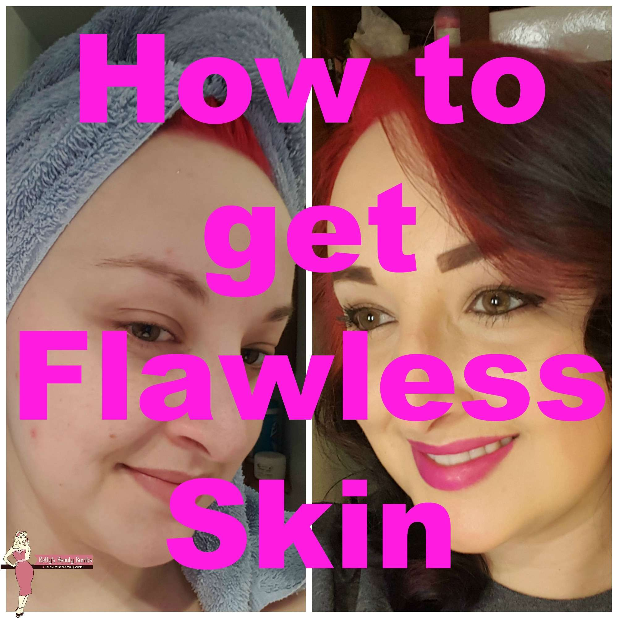Flawless Skin: How To Get A Flawless Skin Look