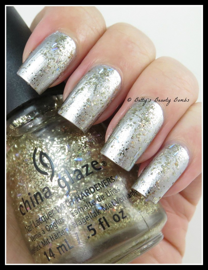 China Glaze Twinkle Holiday Collection Lazy Betty