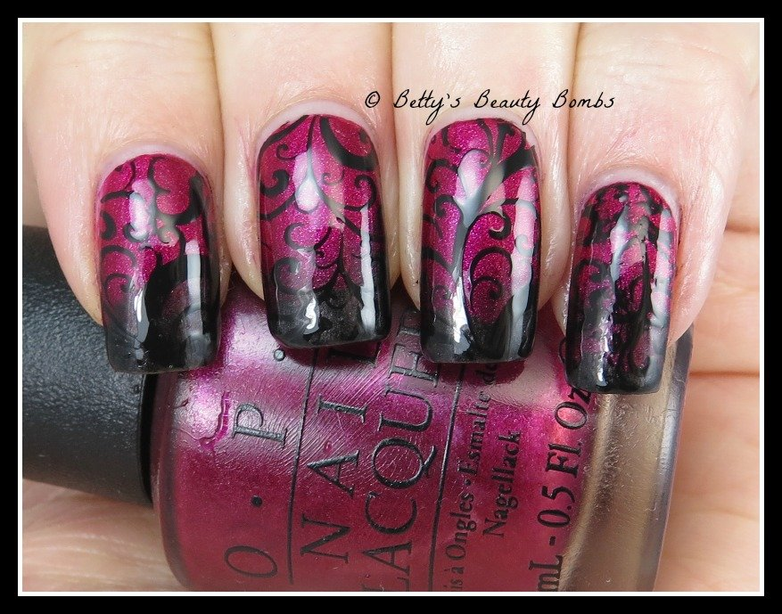 stamp-on-gradient-nail-art