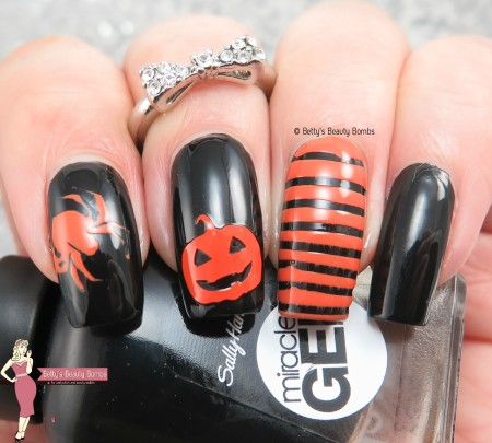 Halloween With Sally Hansen And Nyc Lazy Betty
