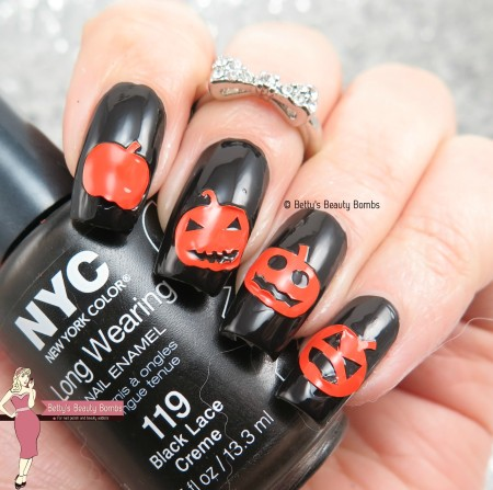 pumpkin-nail-art