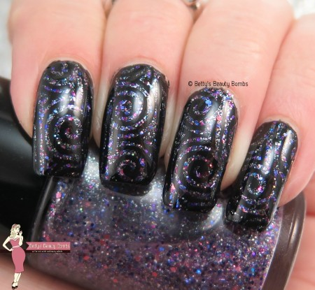 stamping-on-micro-glitter