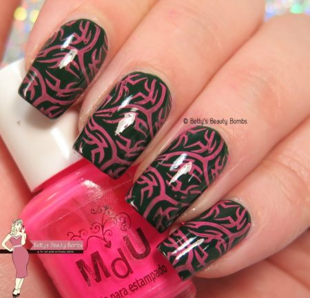 pink-and-green-stamping