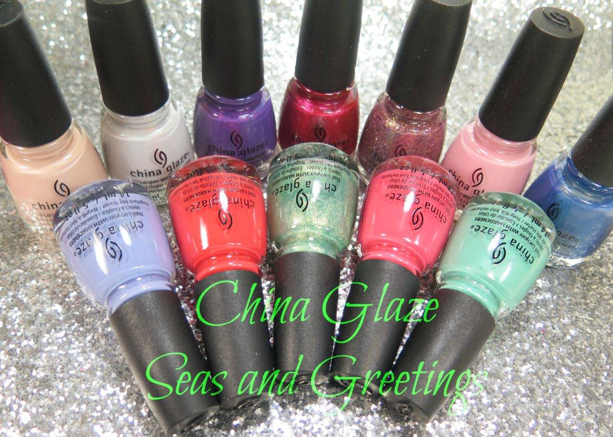 China Glaze Seas and Greetings Collection