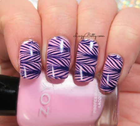 fake-water-marble-nail-art