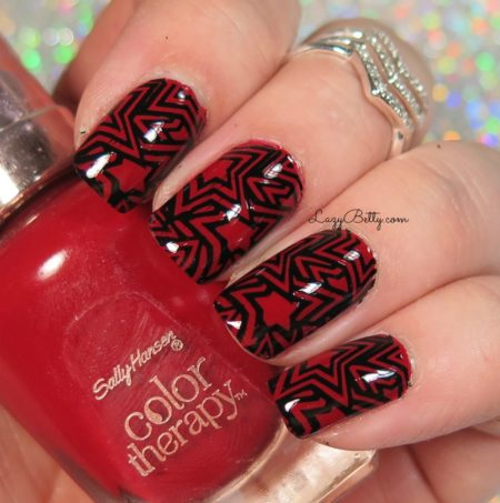 red-and-black-nail-art