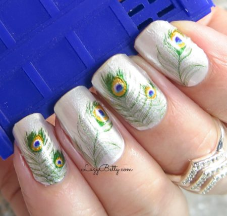 color-street-peacock-throne-nail-wraps