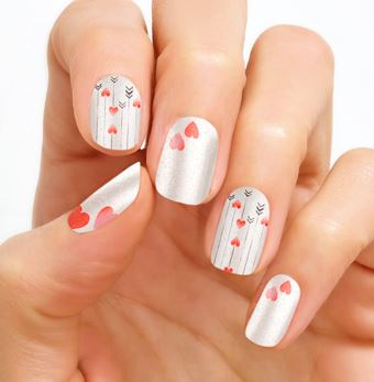 Valentine's Day Nail Art