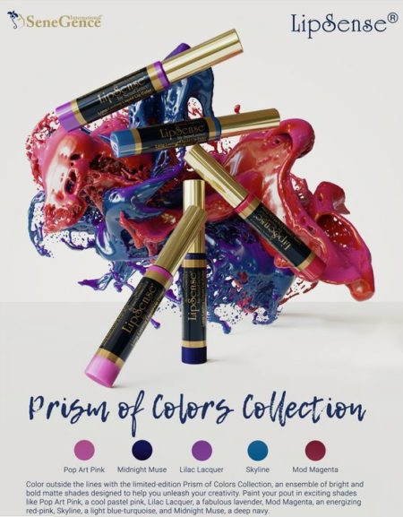 lipsense prism of colors collection