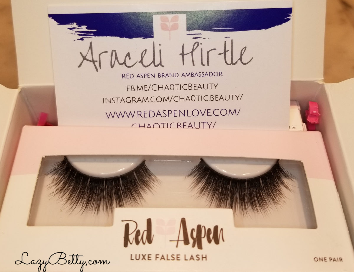 Red Aspen False Eyelash Review